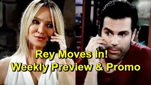 The Young and the Restless Spoilers: Week of May 20 Preview – Nick Suspects Billy Shot Adam – Rey Moves In with Sharon