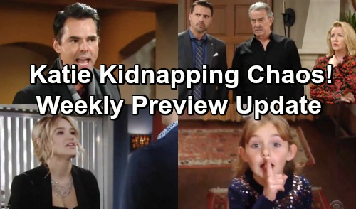 The Young and the Restless Spoilers: Hot Preview Week of January 28 – Katie Kidnapping Chaos – Hurricane Summer Hits GC