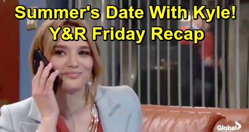The Young and the Restless Spoilers: Friday, May 3 Recap – Mariah's Stalker Strikes – Victor Tells Sharon – Summer's Kyle Date