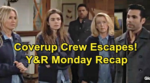 The Young and the Restless Spoilers: Monday, March 18 Update – Mia and Arturo Dirty Little Secret – Rey Helps Cover-up Crew Escape