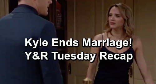 The Young and the Restless Spoilers: Tuesday, April 23 Recap – Kyle Ends Marriage to Summer – Devon's Discovers Neil's Dead Body