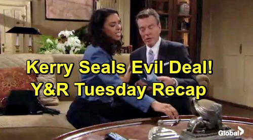 The Young and the Restless Spoilers: Tuesday, March 12 Recap – Verdict Is In – Kerry Seals Deal - Abby Drops Summer Bomb on Nick