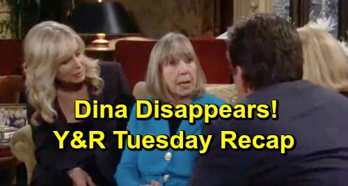 The Young and the Restless Spoilers: Tuesday, May 28 Recap – Dina Disappears – Nick Hires Rey - Abby Rewards Tessa
