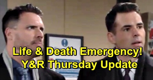 The Young and the Restless Spoilers: Thursday, March 14 Recap – Victoria Rages at Phyllis – Nick & Billy Emergency For Rey