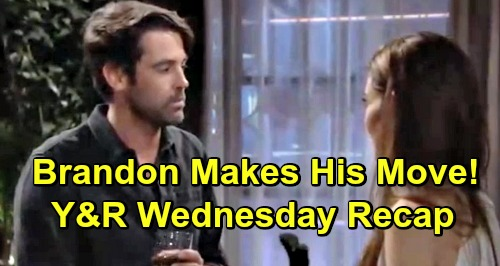 The Young and the Restless Spoilers: Wednesday, April 3 Recap – Brandon Makes His Move on Victoria – Mariah Crashes Shey's Date