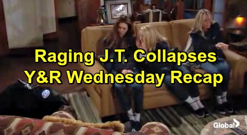 The Young and the Restless Spoilers: Wednesday, March 20 Recap – Raging J.T. Collapses, Leaves Tied-up Women Dying in Gas Leak