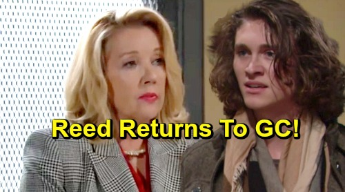 The Young and the Restless Spoilers: Reed Hellstrom Returns To Genoa City - Learns Granny Confessed To Murdering J.T.?