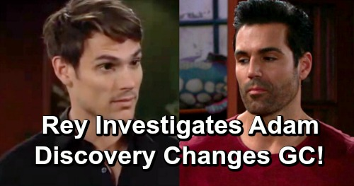 The Young and the Restless Spoilers: Adam Investigation Bomb Drops – Rey's Discovery Puts Mark Grossman's Character In Jeopardy