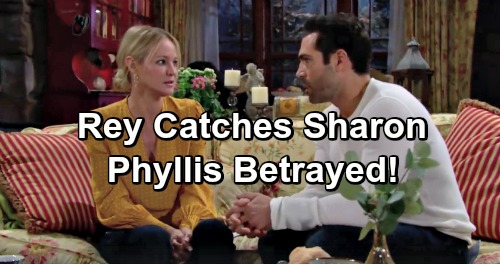 The Young and the Restless Spoilers: Sharon Betrays Phyllis After Rey Discovers Her 911 Call From Night J.T. Disappeared