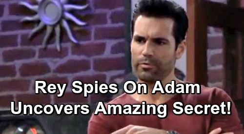 The Young and the Restless Spoilers: Rey Hired to Spy on Adam, Uncovers Amazing Secrets – Sharon's Outrage Brings Shey Drama