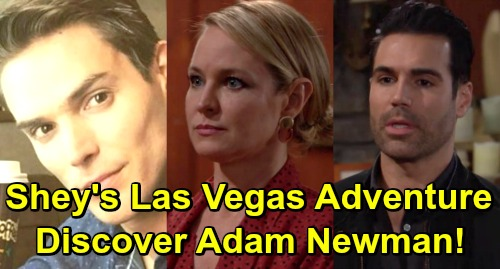 The Young and the Restless Spoilers: Rey and Sharon's Vegas Adventure – Shey Makes Crazy Adam Newman Discovery