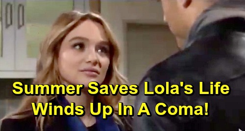 The Young and the Restless Spoilers: Summer's Surgery Goes Horribly Wrong – Saves Lola with Liver Transplant, But Lands In A Coma?