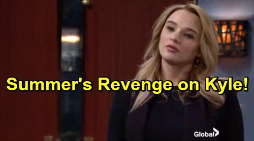 The Young and the Restless Spoilers: Summer's Vengeful Side Unleashed – Ditches Plan to Win Kyle Back, Wants Him Miserable Instead