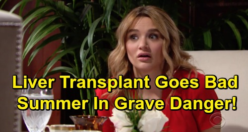 The Young and the Restless Spoilers: Victor Fights to Save Summer After Liver Transplant – Hunter King Temporary Exit Strategy?