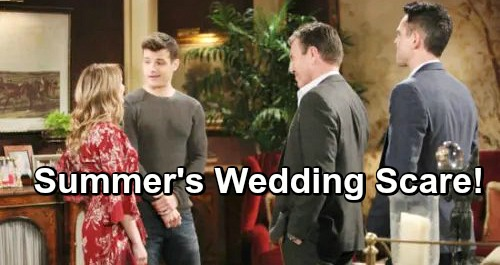 The Young and the Restless Spoilers: Summer's Wedding Scare, Kyle's Shocker Brings Panic – Bride and Groom Face Worst Fears