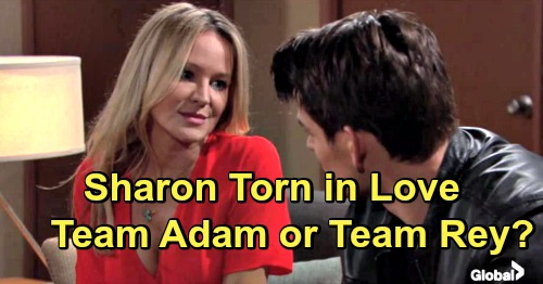 The Young and the Restless Spoilers: Shadam vs. Shey, War for Sharon's Heart Begins – Which Man Should She Choose?