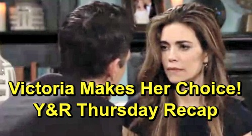 The Young and the Restless Spoilers: Thursday, April 18 Recap – Phyllis Blasts Billy Over Summer, Victoria Decides - Shey Get Steamy