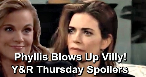 The Young and the Restless Spoilers: Thursday, April 18 – Phyllis Exposes Billy & Summer Hookup, Blows Up Villy - Summer's Scary News