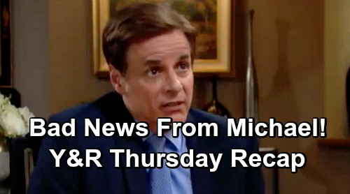 The Young and the Restless Spoilers: Thursday, February 7 Update – Michael Warns Victor Will Lose Trial – Kyle's Summer Blunder
