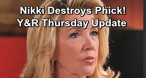 The Young and the Restless Spoilers: Thursday, January 24 Update – Phyllis Confesses, Nikki Destroys Phick – Abby Faces Proposal