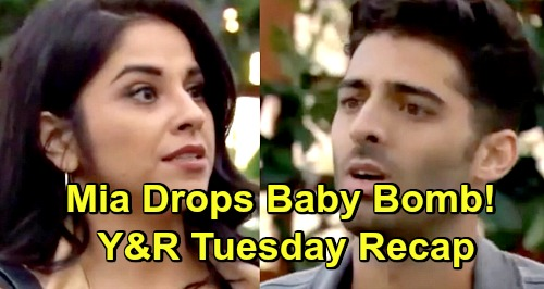 The Young and the Restless Spoilers: Tuesday, April 16 Recap – Mia Drops Baby Bomb on Arturo – Summer Rages Over Phyllis