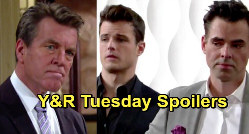 young and the restless spoilers tuesday april 2