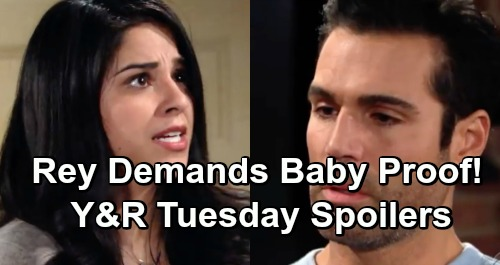 The Young and the Restless Spoilers: Tuesday, February 26 – Rey Accuses Mia of Pregnancy Lie, Demands Proof