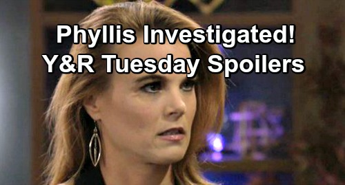 The Young and the Restless Spoilers: Tuesday, February 5 – Phyllis Faces Startling Investigation – Michael and Nick Tackle Enemy Spy