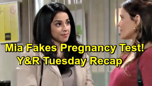 The Young and the Restless Spoilers: Tuesday, February 26 Recap – Mia Fakes Pregnancy Test – Dying Lola Needs Liver Transplant https://www.celebdirtylaundry.com/2019/the-young-and-the-restless-spoilers-tuesday-february-26-recap-mia-fakes-pregnancy-test-dying-lola-needs-liver-transplant/