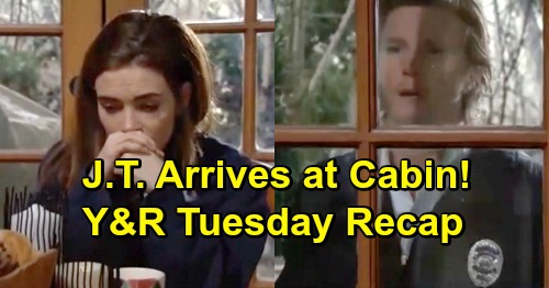 The Young and the Restless Spoilers: Tuesday, March 19 Update – Vengeful J.T. Shows Up at Cabin – Ana's Shocking Father Revealed