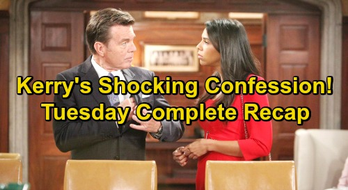 The Young and the Restless Spoilers: Tuesday, January 29 Update – Kerry's Shocking Confession – Summer Drops Bomb on Nick and Phyllis