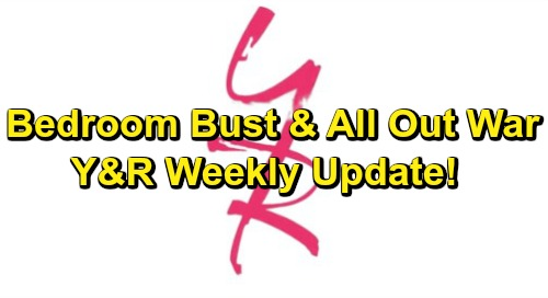 The Young and the Restless Spoilers: Week of February 11 Update – Brawl, Bedroom Bust, and All-Out War