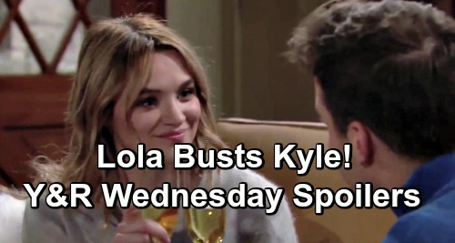 The Young and the Restless Spoilers: Wednesday, February 13 – Cane's Desperate Message for Lily – Lola Busts Kyle With Summer