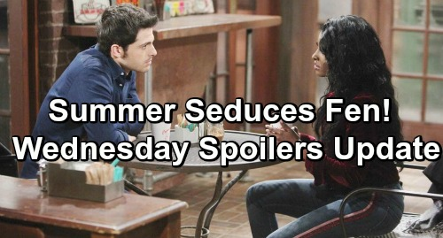 The Young and the Restless Spoilers: Wednesday, January 30 Update – Summer and Fen's Kiss Shocks Kyle – Jack's Change of Heart