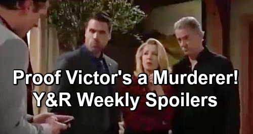 The Young and the Restless Spoilers: Week of February 4 – Email Proof Victor's a Murderer - Nikki Confesses To Rey and Christina
