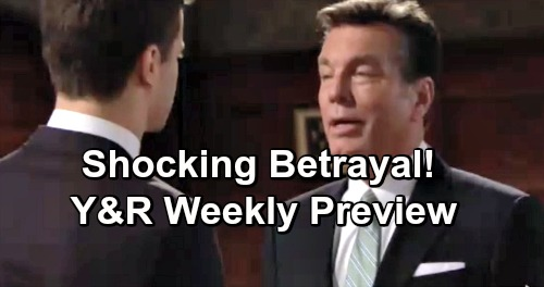 The Young and the Restless Spoilers: Week of January 21 Preview – Violent Showdowns, Amazing Secrets and Shocking Betrayals