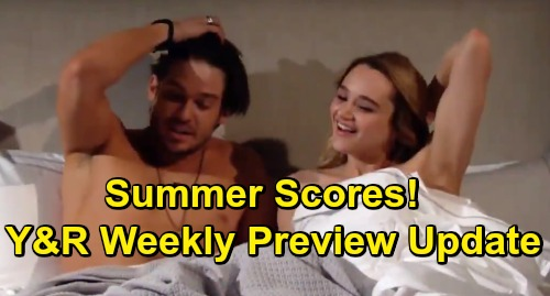 The Young and the Restless Spoilers: Week of June 3 Preview Video - Kyle Proposes - Summer's Hot Fling - Adam & Nick War Breaks Out