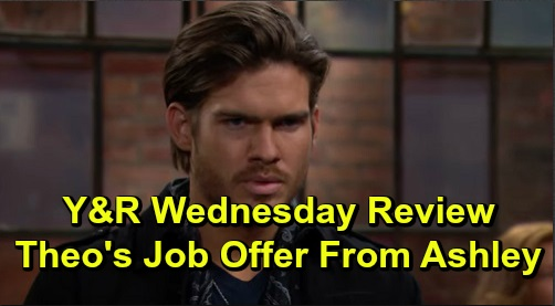 The Young and the Restless Spoilers: Wednesday, November 13 Review - Chance Connects With Abby - Ashley Offers Theo A Job