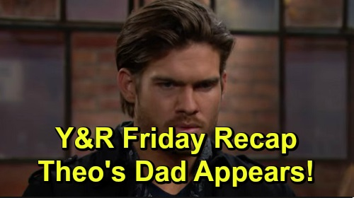 The Young and the Restless Spoilers: Friday, November 8 Recap – Chance Punches Cane – Theo's Dad Appears – Chelsea's Plan Puzzles Adam