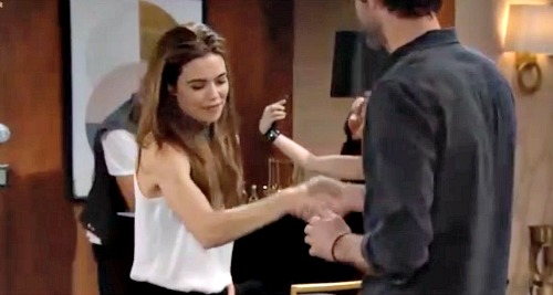 young and the restless victoria newman amelia heinle brandon rose mitch eakins