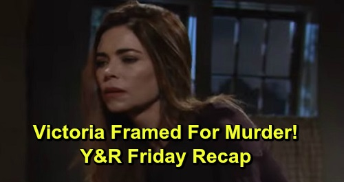 The Young and the Restless Spoilers: Friday, September 20 Recap – Victoria Framed for Victor's Murder – Adam's Twisted Plan Takes Shape