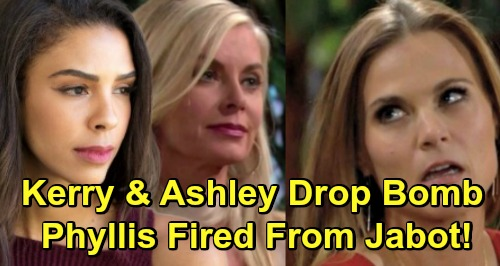 The Young and the Restless Spoilers: Kerry and Ashley Drop Betrayal Bomb – Phyllis Thrown Out of Jabot, Karma Hits Hard