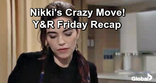 The Young and the Restless Spoilers: Friday, January 4 – Cane's Kiss Stuns Jill – Nikki's Crazy Move – Victoria Gets Honest