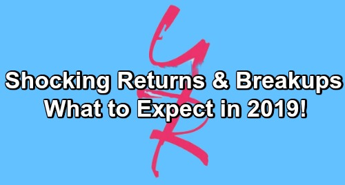 The Young and the Restless Spoilers: What To Expect In 2019 – Shocking Returns, Breakups, Marriages, and Surprises