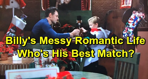 The Young and the Restless Spoilers: Billy's Messy Romantic Path – Which Woman Is His Best Match?