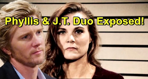 young restless spoilers phyllis j.t. yr 1 - Celebrity Dirty Laundry Y R