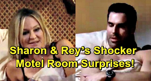 The Young and the Restless Spoilers: Drug Bust Leads to Sharon and Rey's Shocking Night T