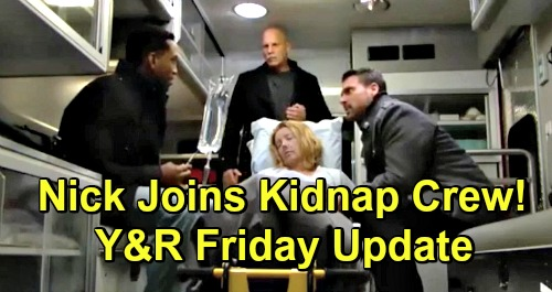 The Young and the Restless Spoilers: Friday, December 28 Update and Recap – Nick Catches Nate, Joins Kidnap Crew - Nikki Relapses
