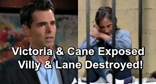 The Young and the Restless Spoilers: Victoria and Cane's Secret Explodes – Villy Reunion Dashed, Lane Marriage Crumbles