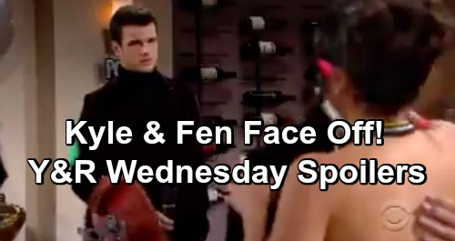 The Young and the Restless Spoilers: Wednesday, January 2 – Angry Abby Confronts Mariah – Kyle and Fen Face Off Over Lola